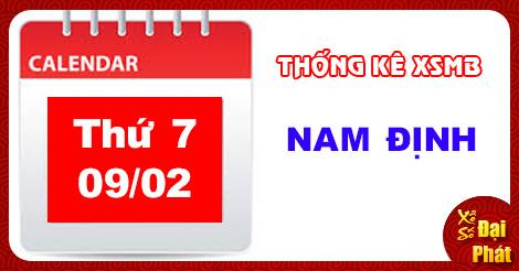 Thống Kê XSMB 09/02 - TK Xổ Số Miền Bắc Thứ 7 Ngày 09/02/2019