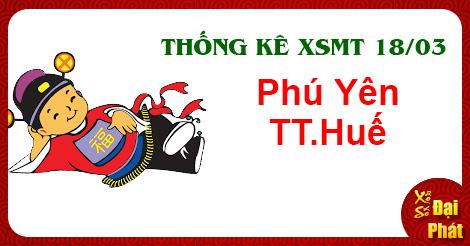 Thống Kê XSMT 18/03 - TK Xổ Số Miền Trung Thứ 2 Ngày 18/03/2019