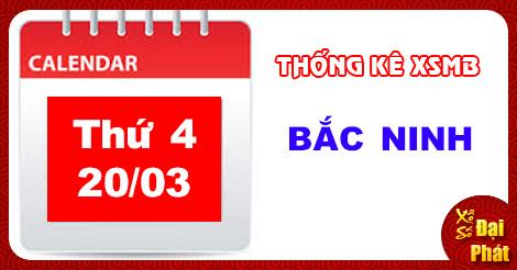Thong Ke XSMB 20/03/2019 - Thống Kê Kết Quả Xổ Số Miền Bắc 100 Ngày